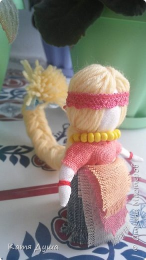 Народные куколки из натуральных материалов, сотворённые с любовью) фото 9