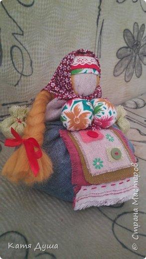 Народные куколки из натуральных материалов, сотворённые с любовью) фото 11