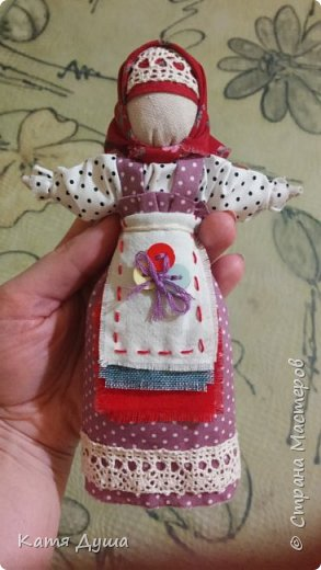 Народные куколки из натуральных материалов, сотворённые с любовью) фото 12