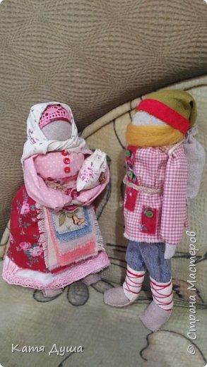 Народные куколки из натуральных материалов, сотворённые с любовью) фото 13