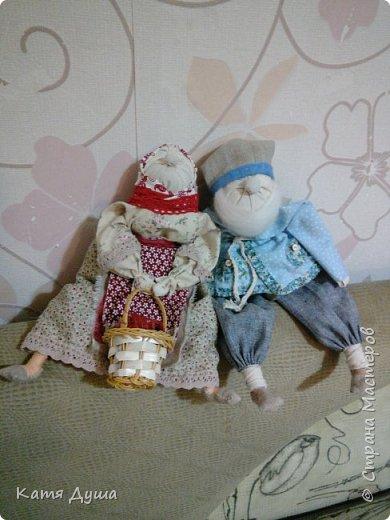 Народные куколки из натуральных материалов, сотворённые с любовью) фото 6