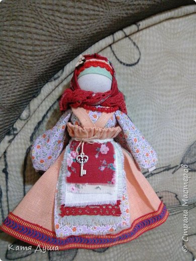 Народные куколки из натуральных материалов, сотворённые с любовью) фото 5