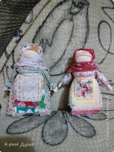 Народные куколки из натуральных материалов, сотворённые с любовью) фото 3