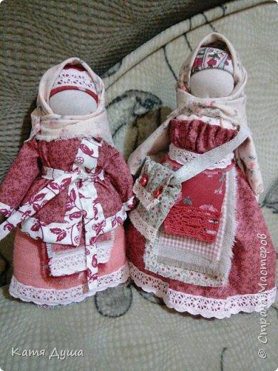 Народные куколки из натуральных материалов, сотворённые с любовью) фото 1