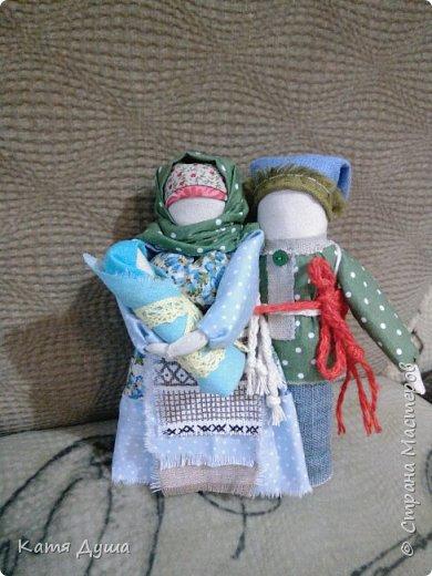 Народные куколки из натуральных материалов, сотворённые с любовью) фото 7