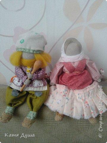 Народные куколки из натуральных материалов, сотворённые с любовью) фото 8