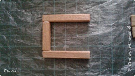 Вот такая мебель у меня получилась в столовую домика, для куколок фото 7