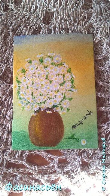 Моя первая карточка от Полины (Полина К мелоди). Здесь её страничка https://stranamasterov.ru/user/429450 фото 12
