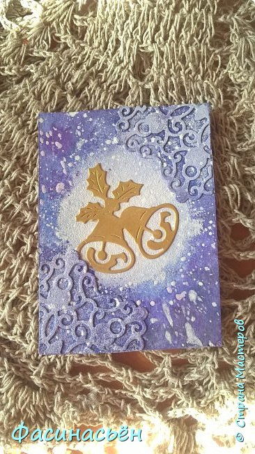 Моя первая карточка от Полины (Полина К мелоди). Здесь её страничка https://stranamasterov.ru/user/429450 фото 3