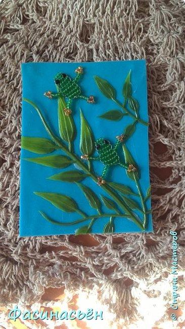 Моя первая карточка от Полины (Полина К мелоди). Здесь её страничка https://stranamasterov.ru/user/429450 фото 2
