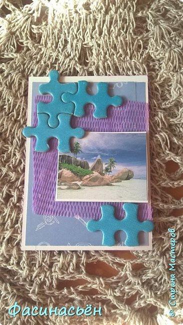 Моя первая карточка от Полины (Полина К мелоди). Здесь её страничка http://stranamasterov.ru/user/429450 фото 6