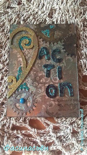 Моя первая карточка от Полины (Полина К мелоди). Здесь её страничка http://stranamasterov.ru/user/429450 фото 9