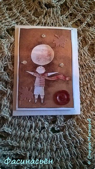 Моя первая карточка от Полины (Полина К мелоди). Здесь её страничка http://stranamasterov.ru/user/429450 фото 13