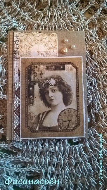 Моя первая карточка от Полины (Полина К мелоди). Здесь её страничка https://stranamasterov.ru/user/429450 фото 15