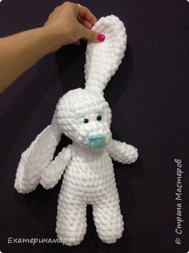 Зефирные зайчатки-сплюшки для моих детей =) белый - для сына, розовый - для дочи =) Маша даже сказала, что они как братик и сестричка =) фото 2