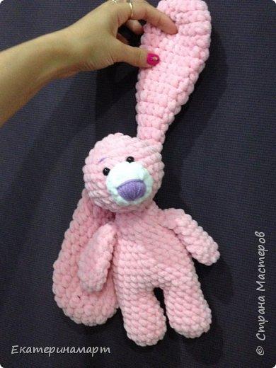 Зефирные зайчатки-сплюшки для моих детей =) белый - для сына, розовый - для дочи =) Маша даже сказала, что они как братик и сестричка =) фото 3