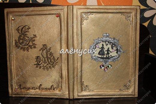 Декоративная книга всегда приятно иметь свою собственную))да ещё  и выполненную вручную))  фото 11