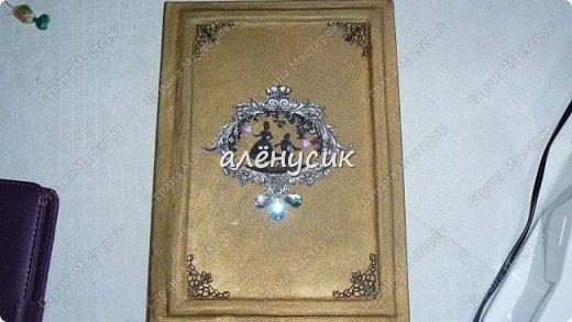 Декоративная книга всегда приятно иметь свою собственную))да ещё  и выполненную вручную))  фото 6