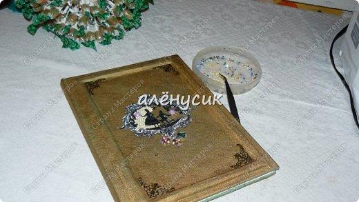 Декоративная книга всегда приятно иметь свою собственную))да ещё  и выполненную вручную))  фото 4