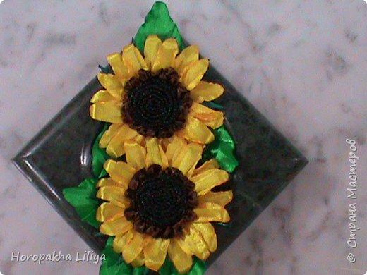 Подсолнух канзаши, необыкновенно красивый способ создания этого цветка фото 1