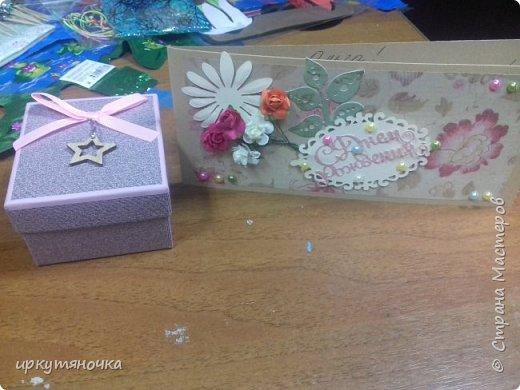 Посылочка пришла от Елены и ее дочери Кристины http://stranamasterov.ru/user/1276. Столько всего интересного! И мне все очень понравилось. Очень приятно новое знакомство.  День Рождения продлился и это радует! фото 2