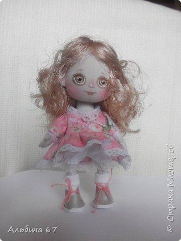 Кукла - кнопка, рост 16 сантиметров фото 7