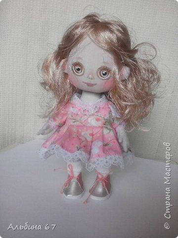 Кукла - кнопка, рост 16 сантиметров фото 5