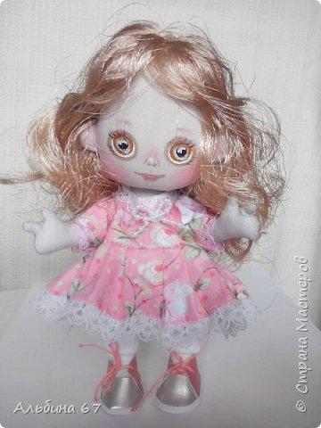 Кукла - кнопка, рост 16 сантиметров фото 3