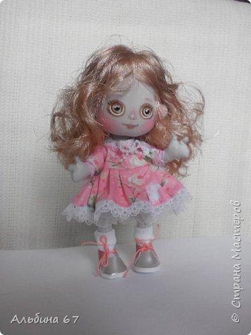 Кукла - кнопка, рост 16 сантиметров фото 1