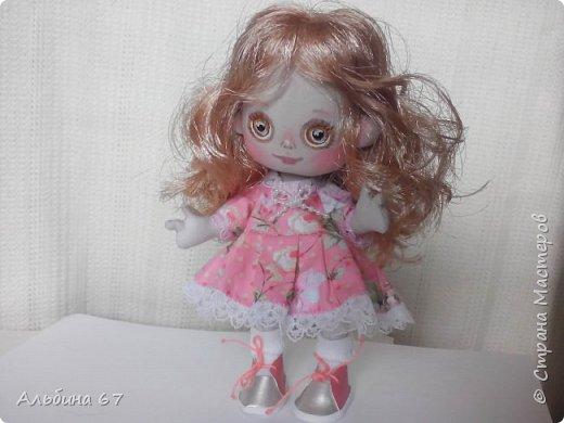 Кукла - кнопка, рост 16 сантиметров фото 2