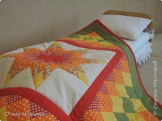 На день рождения для маленькой девочки Мирославы сделала такую кроватку и сшила постельку. фото 14
