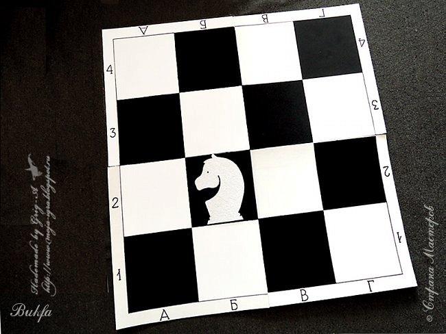 Всем черно-белый привет!  Вот уж действительно насиделся муж за этой шахматной доской! Вернее, над шахматной доской! Но всё по порядку! Давно известно, что шахматы - игра интеллектуальная. Обучение игре в шахматы с самого раннего возраста открывает дорогу к творчеству, развивает интеллект, организует мозг!