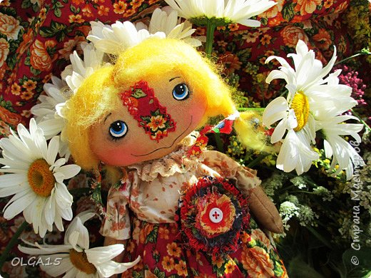 Куклы были сшиты давно и  только сейчас я их окончательно доделала. Куколки тонированы кофе и корицей, лицо нарисовано красками. фото 14
