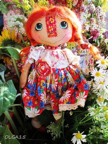Куклы были сшиты давно и  только сейчас я их окончательно доделала. Куколки тонированы кофе и корицей, лицо нарисовано красками. фото 15