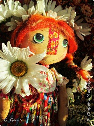 Куклы были сшиты давно и  только сейчас я их окончательно доделала. Куколки тонированы кофе и корицей, лицо нарисовано красками. фото 16