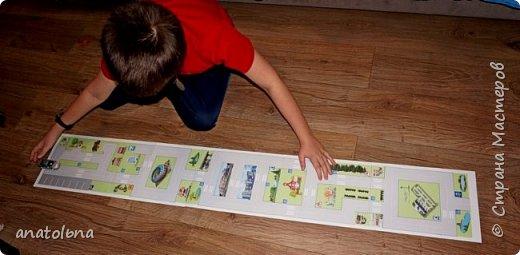 Бумажная игровая дорога фото 1