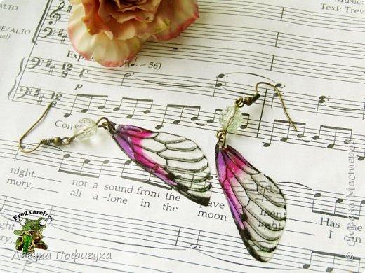 Нежные крылышки бабочки колыхаются на ветру как мотыльки... Свет свободно проходит сквозь них, играя зелеными лучиками.  фото 2