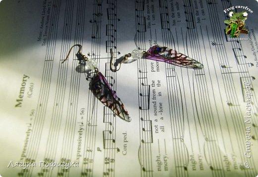 Нежные крылышки бабочки колыхаются на ветру как мотыльки... Свет свободно проходит сквозь них, играя зелеными лучиками.  фото 3