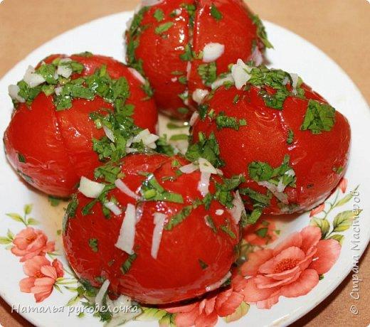 Добрый день, Страна Мастеров! На грядках поспели помидоры и пора уже их готовить.  Сегодня я решила сделать малосольные помидоры в пакете за одни сутки. Рецепт внизу. фото 1