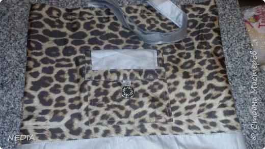 Моя другая работа сумка-кошелёк авоська фото 3