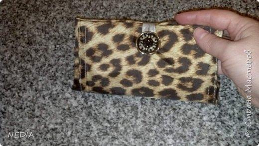 Моя другая работа сумка-кошелёк авоська фото 1