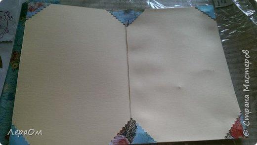 Использовалась заготовка для открыток  фото 5