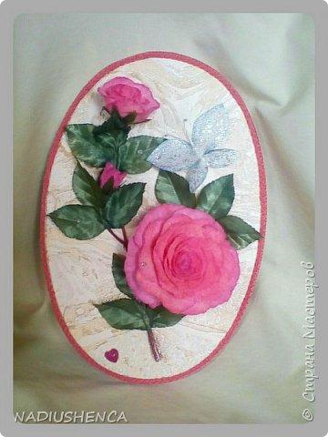 Панно с розами. фото 1