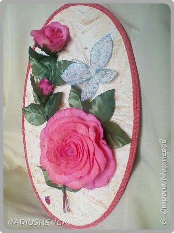 Панно с розами. фото 5