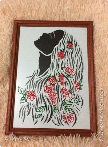 """Картина """"Девушка-роза!"""" фото 1"""