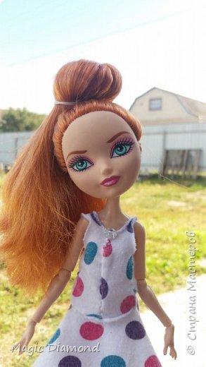 Всем доброго времени суток! Сегодня я сдаю работу на конкурс от Кукляшка 12. В роле модели  сегодня у нас Холли.  фото 1