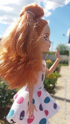 Всем доброго времени суток! Сегодня я сдаю работу на конкурс от Кукляшка 12. В роле модели  сегодня у нас Холли.  фото 3