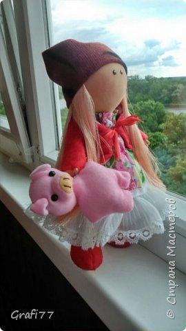 """Кукла """"Персик"""" фото 3"""