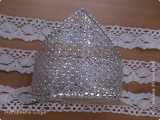Новогодняя хрустальная корона с бриллиантами для наших принцесс фото 1