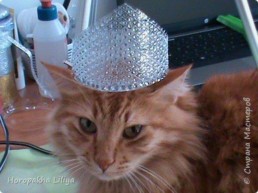 Новогодняя хрустальная корона с бриллиантами для наших принцесс фото 3
